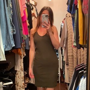 H&M Basic Ribbed Dress, Medium
